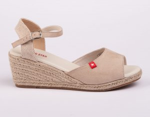 Espadryle damskie BIG STAR SHOES FF274541.